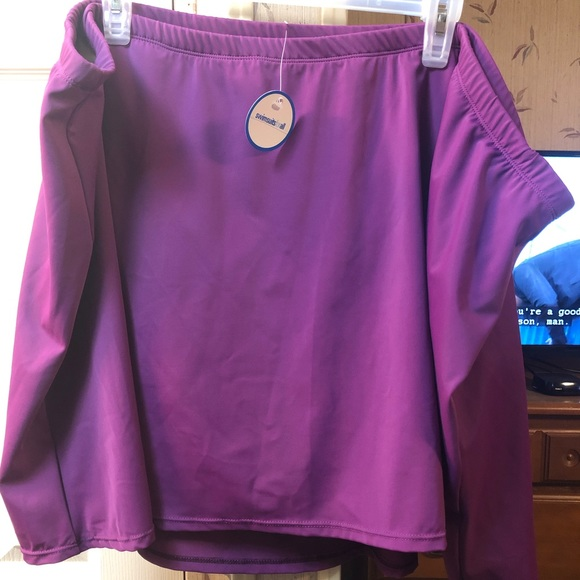 Swimsuits For All Other - NWT Purple Swim Skirt Bottom